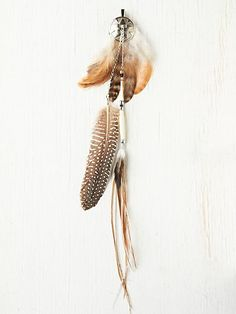 Free People feather hair clip