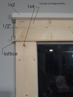 DIY Craftsman style moulding. Includes great tips, measurements, etc.