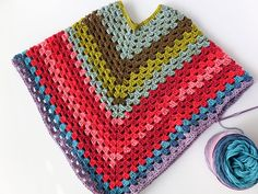 crochet poncho kids Lets Try: Self Striping Yarn Cakes + 2 BONUS Crochet Patterns Crochet Girls, Crochet For Kids, Free Crochet, Crochet Ideas, Crochet Poncho Patterns, Crochet Shawl, Irish Crochet, Crochet Baby Poncho, Blanket Crochet