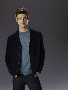 Grant Gustin is Barry Allen - The Flash! Barry was 11 years old when his mother was killed by the Reverse Flash, and his father framed for her murder. After the S.T.A.R. labs particle accelerator explodes, Barry becomes The Flash - the fastest man alive.