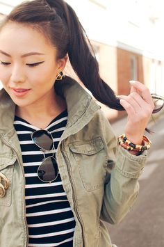 Vintage Jewelry Accents #fall #fashion