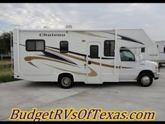 22ft 2010 Chateau by Thor Motor Coach That Is Just Right for Your Long Road Trips With three beds, a full kitchen, bathroom, generator, 50k miles and drives just like a van, what more could you ask for? A great low price? You got it! At ONLY 32,995.00 this one is a steal of a DEAL! Call today 469-554-0440 to schedule your showing! Ask for Bob Barker and lets make a DEAL!  See more at BudgetRVsOfTexas.com
