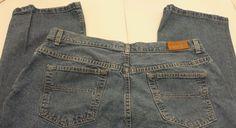 Tommy Hilfiger Jeans Womens Sz 16 L31 medium wash denim straight leg blue jeans #HilfigerDenim #StraightLeg