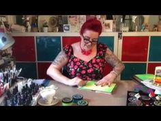 Dylusions Week | Painting with Baby Wipes | Ranger Ink and Innovative Craft Products