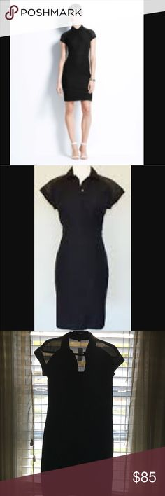 Ann Taylor collared shirt dress This brand new Ann Taylor collared shirt dress is a great for office wear but add some accessories and it could be used for a night out on the town. Ann Taylor Dresses