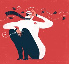 The Conceptual and The Figurative in Editorial Illustrations by Iker Ayesteran