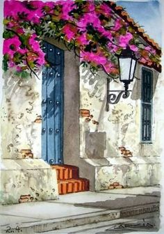 acuarelas pinturas at DuckDuckGo Beginner Painting, Fine Art, Pictures To Paint, Belle Photo, Painting Inspiration, Painting & Drawing, Watercolor Paintings, Watercolors, Wall Art