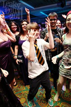 Arthur Bowen (Albus Severus Potter) dances at the LeakyCon 2011 Esther Earl Rocking Charity Ball.