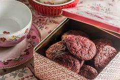 Cookies red velvet con chips de chocolate