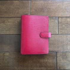 Leather Cover Agenda from Paris, France.