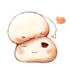 hetalia - Mochi Japan and Mochi Taiwan ~so cute :)