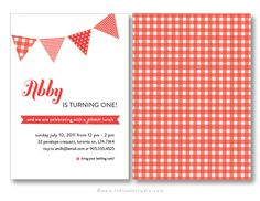 Picnic party invitation printable birthday party invitation picnic themed birthday party printable invitation by oliveandiris 2500 filmwisefo