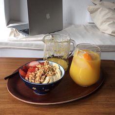 healthy living tips diet plan free online Cute Food, Good Food, Yummy Food, Image Healthy Food, Snapchat, Morning Food, Aesthetic Food, Food Photo, Cravings
