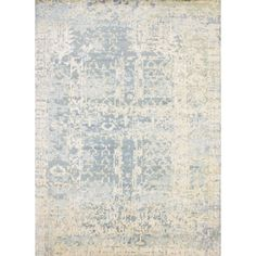 Moon Palace Ivory/Blue - (10' x 14') - ELTE