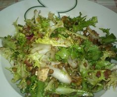Ensalada de lentejas de Mirian Reyes. Con Chef Plus Induction.