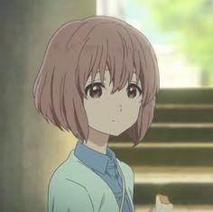 a silent voice - koe no katachi Sad Anime, Anime Art, Anime Life, Anime Films, Anime Characters, Koe No Katachi Anime, A Silent Voice Anime, Anime Faces Expressions, Pretty Anime Girl