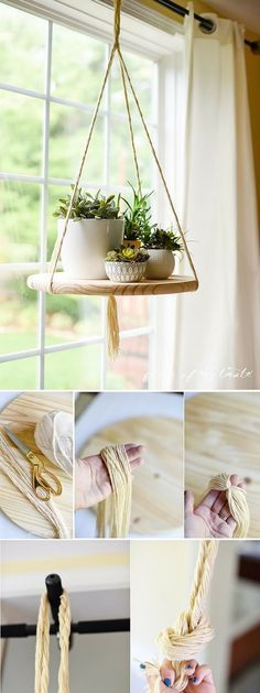 DIY floating shelf! Oh, my..this is an amazing and very simple project! And fun home decor piece as well! #simpleandfundiy