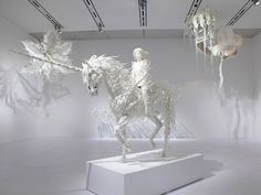 Phantom limb by Motohiko Odani. / #sculpture