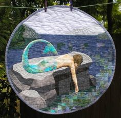 OMG.  This is one of the most amazing wall quilts ever!!!