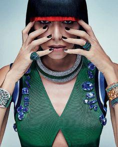 Lea T by Zee Nunes for Vogue Brazil April 2014 1