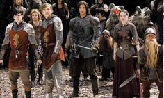 The Chronicles of Narnia: Prince Caspian - Publicity still of Skandar Keynes, William Moseley, Ben Barnes, Anna Popplewell & Peter Dinklage. The image measures 3000 * 2111 pixels and was added on 21 July Anna Popplewell, Narnia Cast, Narnia 3, William Moseley, Pixar, Narnia Costumes, Movie Costumes, The Silver Chair, Narnia Prince Caspian