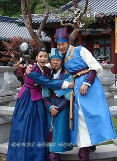 #DongYi (2010) Korean #CostumeDrama ♥ these guys are great and funny. Saw them in other #Kdrama and they are always good for a laugh ♥