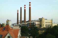 Elektrárna Hodonín - Uhelné elektrárny ČEZ - Elektrárny - Svět energie.cz San Francisco Skyline, Portal, Travel, Viajes, Trips, Traveling, Tourism, Vacations
