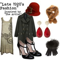 """Late 1920's Fashion"" by fairelalamour on Polyvore I love 20's and 30's fashion, I was either born too late or left too soon..."
