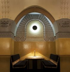 Aschan Café Jugend by Bond, Helsinki Helsinki, Art Nouveau, Art Deco, Amazing Architecture, Architecture Details, Global Design, Modern Design, Design Innovation, Banquet Seating