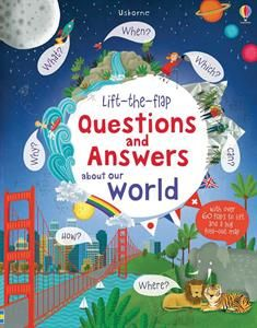 Includes a full map of the world, and answers many questions such as - Where do the Sun & Moon go? What makes the wind blow and volcanoes erupt? How many countries and languages are there? Why is the Earth round and the sky blue? Do all plants have flowers and all rivers flow to the sea? Which is the biggest ocean and the brightest star?