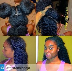 3-way vixen crochet using Marley hair