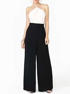 2ab250a1539 Womens Palazzo Pants - Black White Mosaic Design   Sexy   Slimming Effect