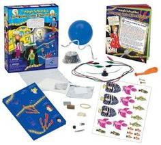 Magic School Bus - Electricity Kit Ages 5+ Let your kids JUMP INTO ELECTRICITY with this cool kit!