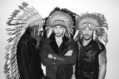 30 Seconds to Mars Photographed by Terry Richardson in 2011
