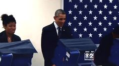 WATCH! You've Got To See The Warning Obama Got While Voting Early In Chicago.  Obama has become so unpopular throughout America, he is like his own walking Ebola!