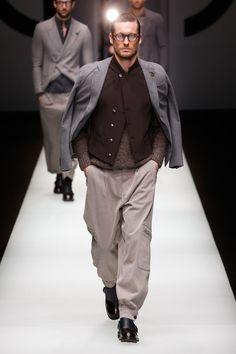 Giorgio Armani | Menswear - Autumn 2018 | Look 1
