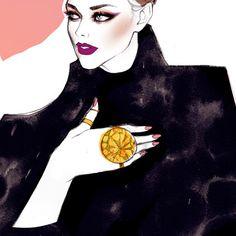 Bea Almeda Make Up - Soleil Ignacio Illustrations