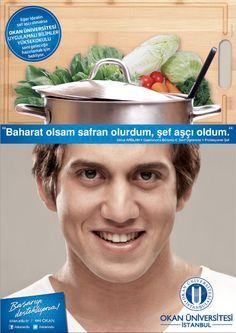 """Okan Üniversitesi - Başarıyı destekliyoruz!  """"Baharat olsam safran olurdum, şef aşçı oldum."""""""
