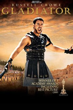 Gladiator is a 2000 British-American epic historical drama film directed by Ridley Scott , and starring Russell Crowe , Joaquin . Leonardo Dicaprio, Russell Crowe Gladiator, Ridley Scott, Patrick Swayze, Blu Ray, Action Film, Streaming Vf, About Time Movie, Film Serie