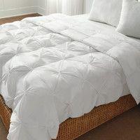 Pintuck Down Alternative Comforter