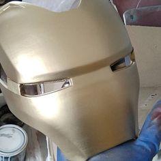 Mark 16 helmet - Electronics gadgets,Electronics apple,Electronics for teens,Electronics organization,Electronics projects Infinity War, Dead Space, Iron Man 3, Mark 46, Pepakura Files, Hand Cannon, 3d Printing Diy, Airsoft Helmet, Hand Made