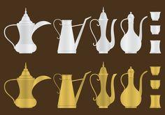 Arabic Coffee Pots