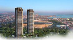 450 milyon TL yatırım değeriyle hayata geçirilen DAP İzmir, Bornova'da Atatürk Stadı'nın hemen yanında konumlandırılıyor. 31 ve 32 katlı iki bloktan meydana gelen projede toplam 707 konut ve ticari alanlar bulunuyor. DAP İzmir projesinin en önemli detayı ise; her biri balkonlu ve ferah dairelerden meydana gelmesi. 1+0'dan 3+1'e kadar farklı konut alternatiflerinin yer aldığı projede, dairelerin boyutları 211 metrekareye kadar varacak şekilde tasarlanıyor. Zengin sosyal donatı alanlarına…