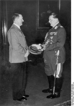 AUG 1 1940 Hitler orders a final push against England Adolf Hitler and Hermann Göring