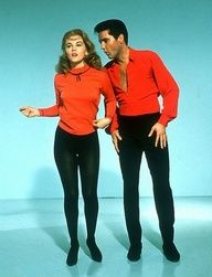 Elvis and Shelly Fabray