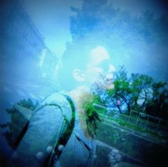 My first photo taken with my Holga Camera