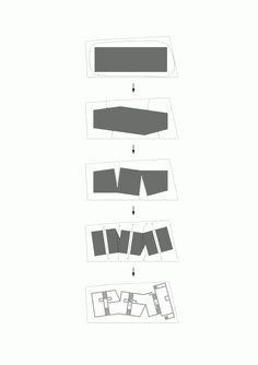 Kaminoge House / Kawabe Naoya Architects Design Office #appartementen #volumeschakeling #zwembad