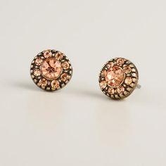 Blush Opal Stone Stud Earrings $4.99!