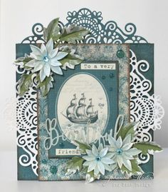 A gorgeous friendship card