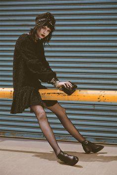 Josephine Skriver byHans NeumannforHarper's Bazaar Spain,September 2013.